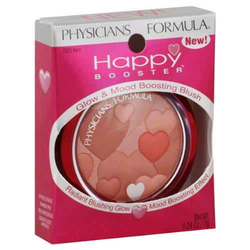 Physicians Formula Happy Booster Blush Glow & Mood Boosting Powder, Pink 7554 - 0.24 Oz,