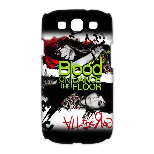 Vcapk Famous Band Blood on The Dance Floor Samsung Galaxy S3 I9300 3D Hard Plastic Phone Case