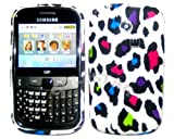 Goldstar Multi Leopard Flowers Silicone Gel Case Cover For Samsung Ch@t335 Chat S3350