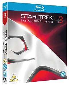 Star Trek: The Original Series - Season 3 [Blu-ray] [Import anglais]