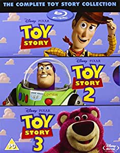 The Complete Toy Story Collection: Toy Story / Toy Story 2 / Toy Story 3 [Blu-ray]