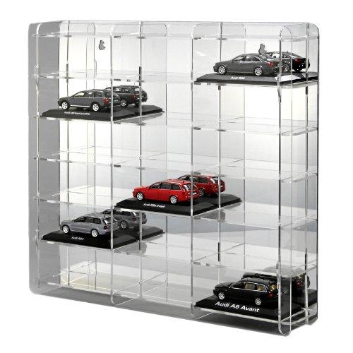 Sora De Modellauto Vitrine 1 43 Mit Spiegelruckwand Amazon De