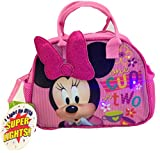 Disney Minnie Mouse Lunch Tote Bag Purse with Super Lights