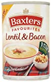 Baxters Favourites Lentil and Bacon Soup 400 g (Pack of 12)