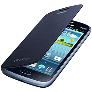 Flip Cover for Samsung Galaxy Core (Blue)