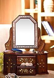 Artesia Wooden Small Dresing Mirror Frame (11