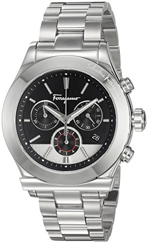 Salvatore-Ferragamo-Mens-1898-Swiss-Quartz-Stainless-Steel-Casual-Watch-ColorSilver-Toned-Model-FFM080016