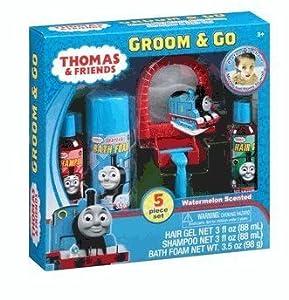 Thomas & Friends Groom & Go: Five Piece Gift Set Watermelon Shampoo, hair gel, etc.