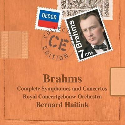 Johannes Brahms: Complete Symphonies and Concertos