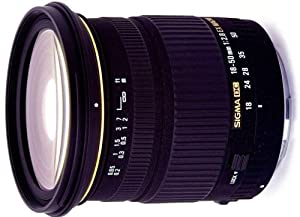 Sigma 18-50mm f/2.8 EX DC HSM Macro Lens for Nikon DSLR