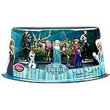 Disney Frozen Exclusive 6-Piece PVC Figure Play Set [Anna, Elsa, Hans, Kristoff, Sven & Olaf]
