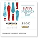 Amazon Gift Card - E-mail - Happy Father's Day (Ties)