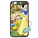 Onelee(TM) - Customized Disney Princess Snow White TPU Case Cover for Apple iPhone 6 - Black 09