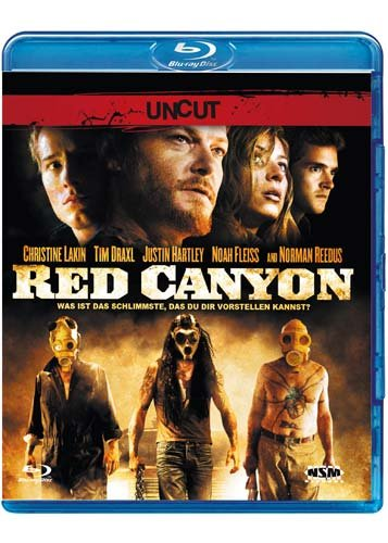 Red Canyon (Blu-Ray) (UNCUT Version) in der um 2 Minuten längeren Version