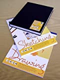 Sketch Book Value Pack-Set of 3 Sketch Books