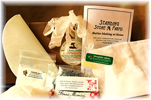 Standing Stone Farms Quot Holiday Quot Butter Making Kit Shopswell