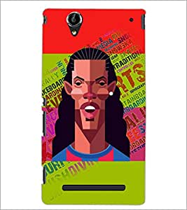 PrintDhaba Typogrphy D-5946 Back Case Cover for SONY XPERIA T2 ULTRA (Multi-Coloured)