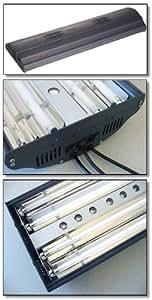 Finnex T5 Fluorescent with LED Combo Aquarium Light Fixture, 4 by 54-watt High Output
