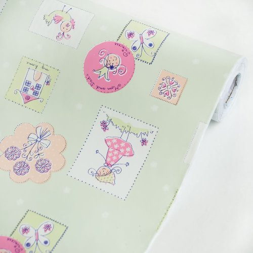 Little Princess Honeydew - Vinyl Self-Adhesive Wallpaper Prepasted Wall Stickers Wall Decor (Roll) front-708310