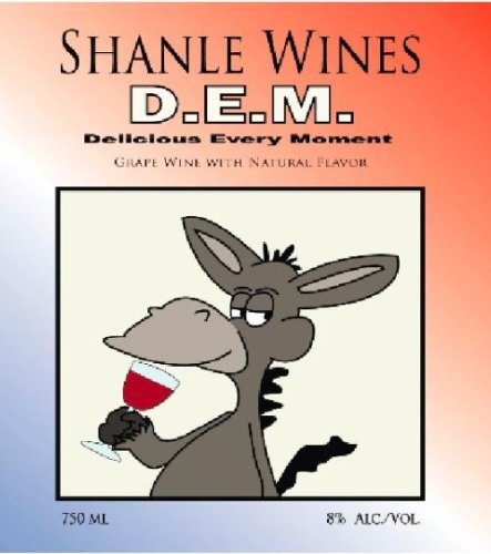 Nv Shanle Wines D.E.M. Delicious Every Moment Blush 750 Ml