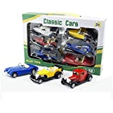 Elektra Metal Classic Cars (Set Of 6) Toy For Kids