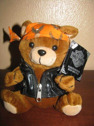 Harley Davidson Bean Bag Plush