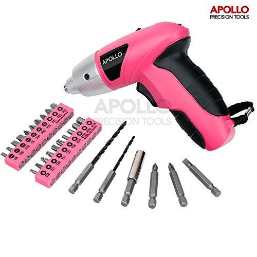 assortiment-tourne-vis-apollo-rose-48v-electrique-sans-fil-avec-600-m-ah-nicad-batterie-26-pieces-po