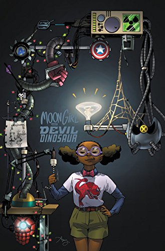 Book Cover: Moon Girl and Devil Dinosaur Vol. 3: The Smartest There Is