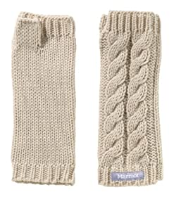 Marmot Women's Fingerless Mittens, Turtle Dove, One Size