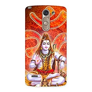 Cute Shiv Omkara Multicolor Back Case Cover for LG G3 Stylus