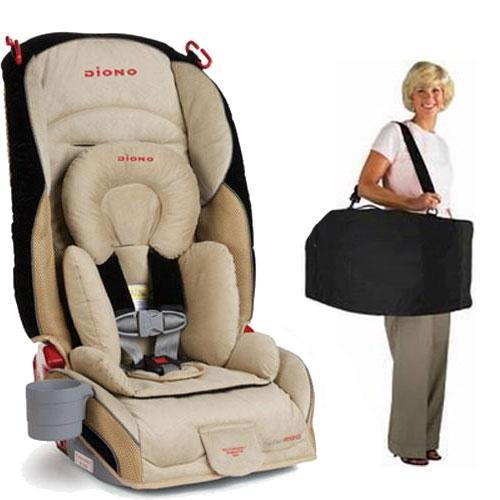 Diono Radian R120 Car Seat with Free Carrying Case - Rugby