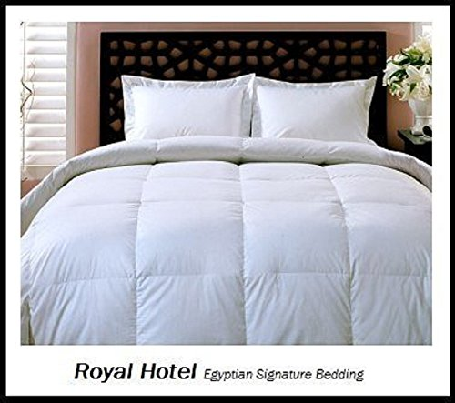 Royal Hotel's Twin / Twin XL Size Down-Alternative Comforter - Duvet Insert, 300-Thread-Count, 40 oz of down- alt filling, 100