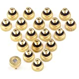 Generic EZLIFE New 10pcs Brass Misting Nozzles For Cooling System With Stainless Steel Orifice Garden JR0005