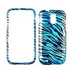 For Samsung Galaxy S Ii Hercules T989 Transparent Blue Zebra Case Accessory