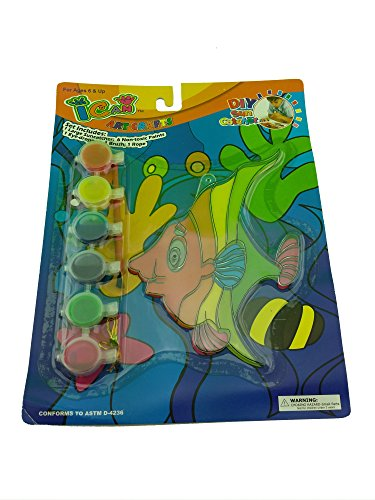 Ican Arts & Crafts DIY Sun Catcher Kids Art and Paint Set