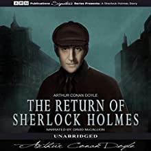 The Return of Sherlock Holmes Audiobook by Arthur Conan Doyle Narrated by David McCallion