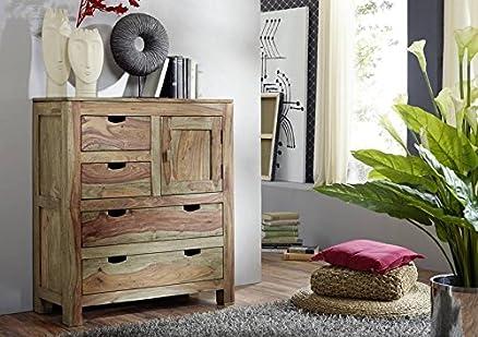 LEGNO MASSELLO SHEESHAM PIASTRA ALTA palissandro mobili in legno massello naturale grigio #87