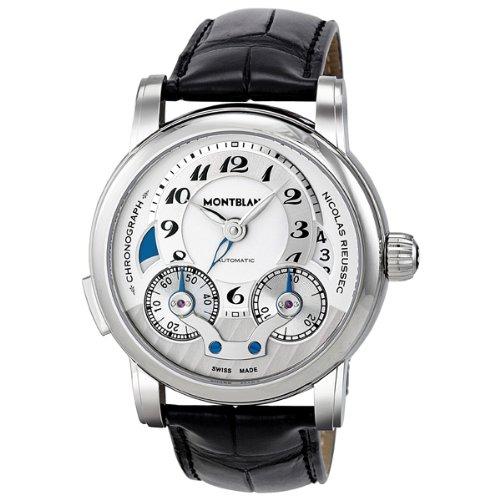 Mont Blanc Nicolas Rieussec Automatic Chronograph Mens Watch MB106595