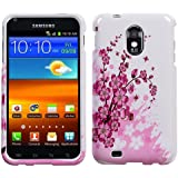 Design Hard Protector Skin Cover Cell Phone Case for Samsung Epic 4G Touch (Galaxy S II) D710 Sprint - Spring Flowers
