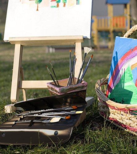 Paint brushes for acrylic watercolor oil gouache paint for Best paint supplies