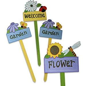 Flower Stake With Sign Wooden 20 Assorted Case Pack 72