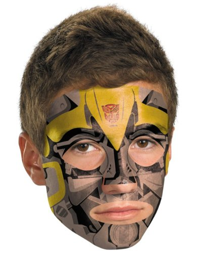 Transformers - Bumblebee Face Tattoo