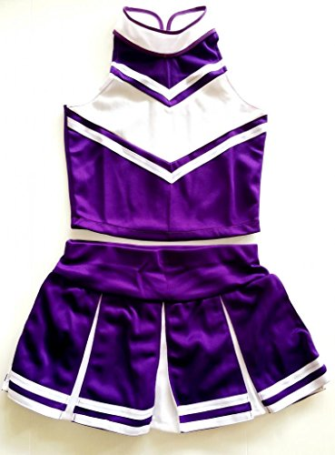 Little Girls' Cheerleader Cheerleading Outfit Uniform Costume Cosplay