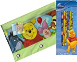Disney Winnie the Pooh Zippered Pencil Case Pouch for 3 Ring Binder and Pencils