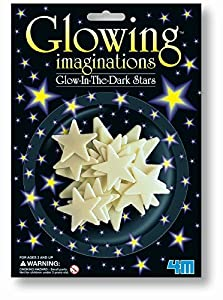 Glowing Imagination 16 Glow-in-the-dark-Stars