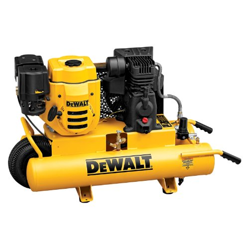 DEWALT D55672  6.5 HP 150 PSI 8 Gallon Gas Wheeled Portable Compressor
