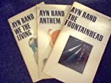 Anthem, We the Living, The Fountainhead (3 Books)