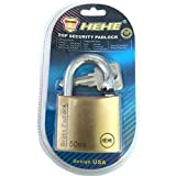 HEHE Top Security Solid brass Padlock 50 MM - With Maximum Security