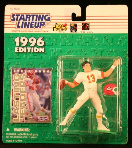 1996 Steve Bono NFL Starting Lineup Figure