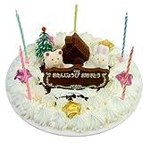 フロム蔵王 誕生日用デコレーションアイスケーキ